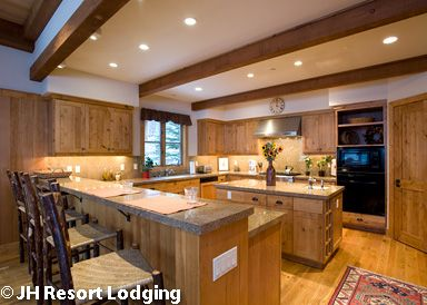 Granite ridge lodges in teton village jackson hole for Kitchen jackson hole