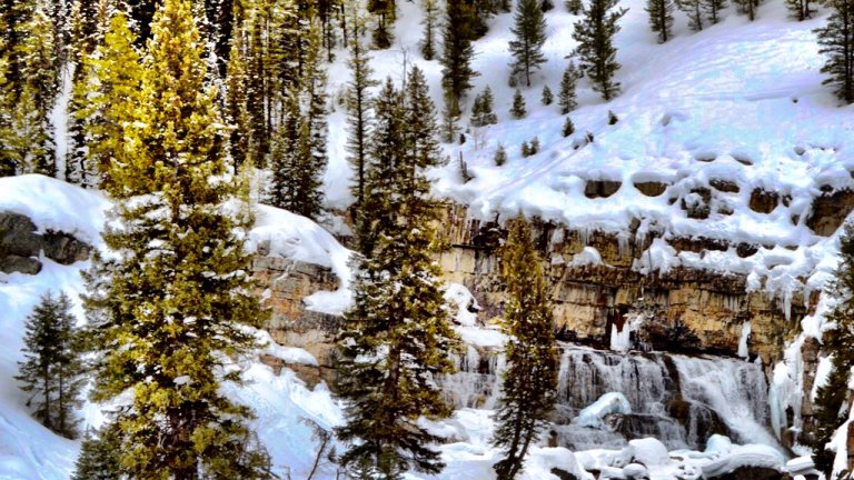 Hang On Tight: A Snowmobiling Tour to Granite Hot Springs