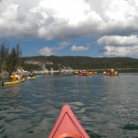 A Geyser Kayak Tour in Yellowstone National Park
