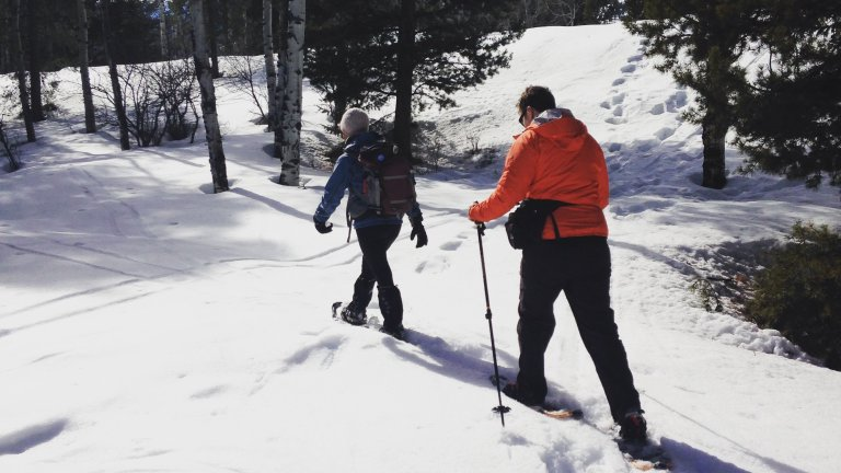 Snowshoeing in Grand Teton with The Hole Hiking Experience