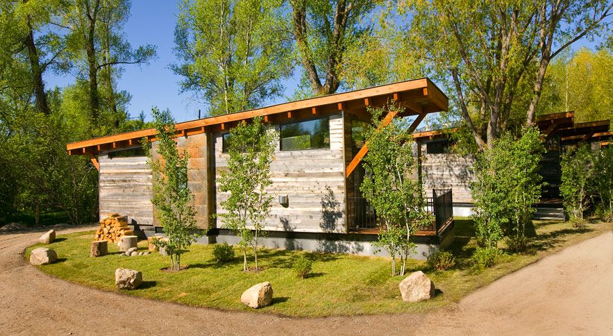 Fireside luxury cabins in jackson hole for Cabins in jackson hole